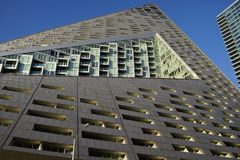 VIA 57 West 19. VIA 57 West marketed as VIΛ 57WEST is the name of a residential building designed by the Danish architecture firm Bjarke Ingels Group BIG. The Stock Photography