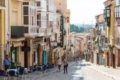 Via Zamora di Balborraz Fotografie Stock