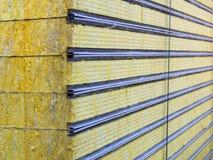 Viable de panneau 'sandwich' d'emballage isolé Matériel de fibre pour le bâtiment de mur images libres de droits