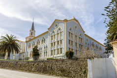Viaceli Abbey  in Cobreces, Cantabria, Spain Stock Images