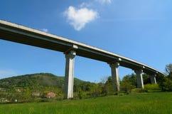 Viadotto della strada principale Fotografie Stock