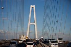 Viadotto della strada principale del Giappone Fotografia Stock Libera da Diritti