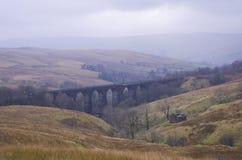 Viadotto di Denthead. Vallate di Yorkshire, parco nazionale immagini stock libere da diritti