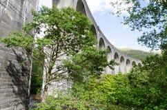 Viadotto di Glenfinnan fotografia stock libera da diritti