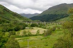 Viadotto di Glenfinnan fotografie stock libere da diritti