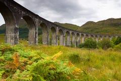 Viadotto di Glenfinnan, Scozia, Regno Unito Immagini Stock