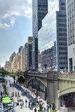 Viadotto di Park Avenue, New York Immagine Stock Libera da Diritti