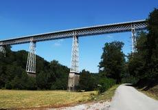 Viadotto la Creuse Francia di Busseau Fotografia Stock