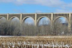Viaduc de crique de Tunkhannock Image libre de droits
