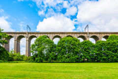 Viaduc de Digswell au R-U photo stock