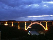 Viaduc de Garabit photo libre de droits