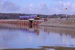 Viaduc de Kent chez Arnside Photos stock