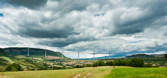 Viaduc de Millau Royalty Free Stock Photo