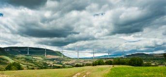 Viaduc de Millau Royalty Free Stock Photo
