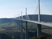 Viaduc de Millau photos stock