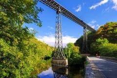 Viaduc de Rouzat在法国 免版税库存照片