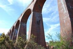 Viaduc de vallée d'Esk Photo stock
