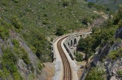 Viaduc ferroviaire Photographie stock