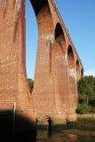 Viaduc ferroviaire victorien Photo libre de droits