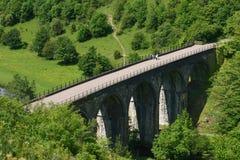 Viaduc principal de Monsal, Derbyshire photos stock