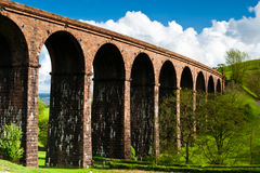 Viaduct. Railway viaduct in Great Britain Royalty Free Stock Photography