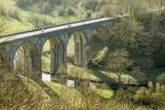 Viaduct royaltyfri foto
