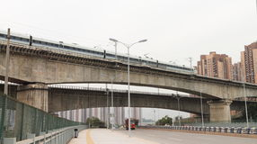 viaduct Royaltyfri Fotografi