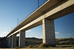 viaduct Fotografie Stock