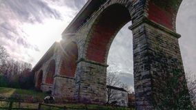 viaduct Arkivbild
