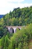 Viaduct bij hoge hoogte Stock Foto's