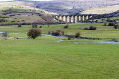 Viaduct Cantabria Royalty Free Stock Photos