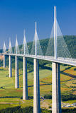 Viaduct de Millau Fotos de Stock