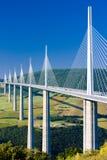 Viaduct de Millau imagens de stock royalty free