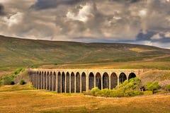 Viaduct de Ribblehead Fotos de Stock Royalty Free