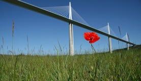 Viaduct of millau Royalty Free Stock Photos
