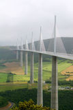 Viaduct Millau Stock Photos