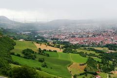 Viaduct Millau Stock Images