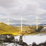 viaduct millau Стоковые Изображения