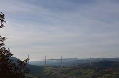 Viaduct of Millau Royalty Free Stock Image