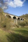 Viaduct am Monsal Tal lizenzfreies stockbild