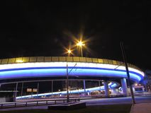 Viaduct in Moskou stock fotografie