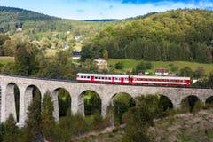 Viaduct Novina Royalty-vrije Stock Afbeeldingen
