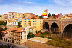 Viaduct  in Teruel Royalty Free Stock Images