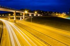 Viaduct in Vilnius, Lazdynai Royalty Free Stock Image