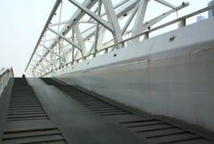 Viaducto blanco urbano chino imágenes de archivo libres de regalías