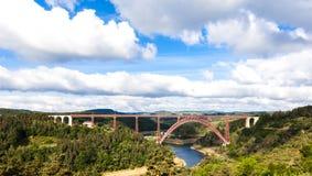 Viaducto de Garabit Imágenes de archivo libres de regalías