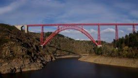 Viaducto de Garabit en Francia metrajes