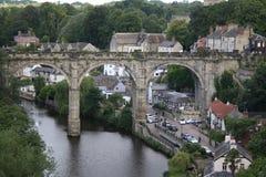 Viaducto de Knaresborough Imágenes de archivo libres de regalías