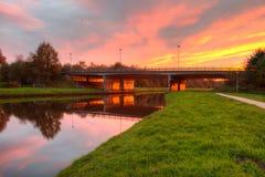 Viaducto de Krakeel Imagenes de archivo