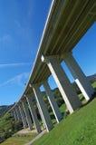 Viaducto de la carretera Imagen de archivo libre de regalías